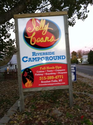 full hook up campgrounds ny